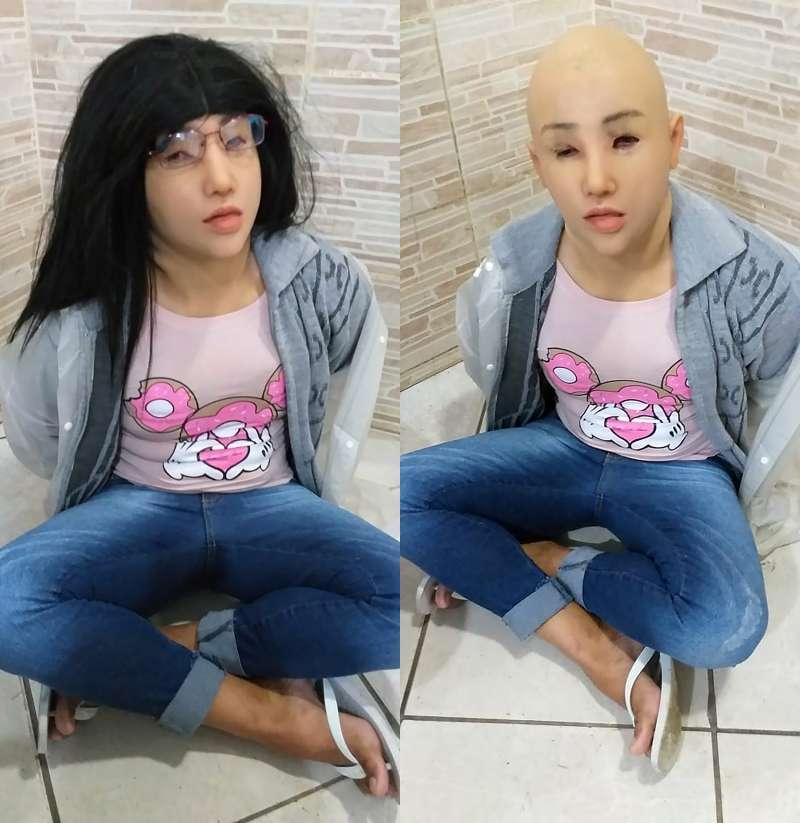 巴西幫派首領達席瓦爾試圖變裝成來探監的女兒試圖越獄,卻因為裝備過於粗糙迅速遭看穿。(美聯社)