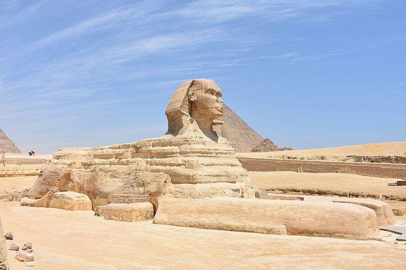 獅身人面像。(圖片取自維基百科)