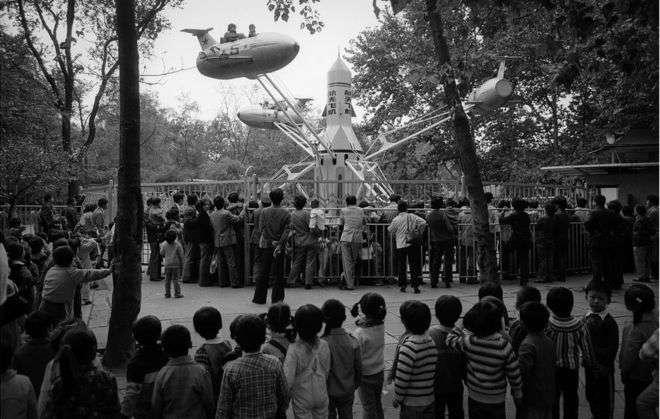 上海遊樂園(1985年)。(BBC中文網)