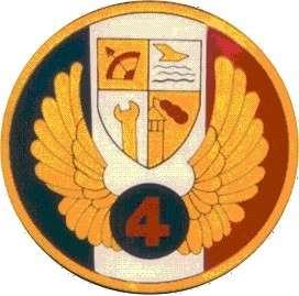 20190809-賈忠偉觀點-中華民國空軍「第四五五戰術戰鬥機聯隊」隊徽。(賈忠偉提供)