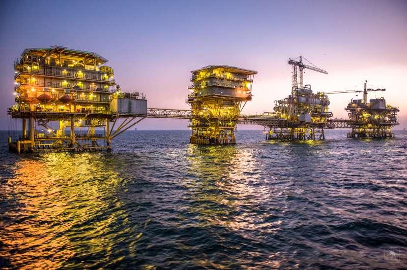 沙烏地阿拉伯國家石油公司(Aramco)的海上油田,傳Aramco將在2020年正式首次公開募股(IPO)。(取自官網)