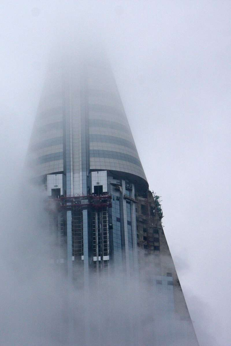 目前平壤第二高的建物為60公尺,高度不及柳京飯店的五分之一。(Roman Harak@Wikipedia / CC BY-SA 2.0)
