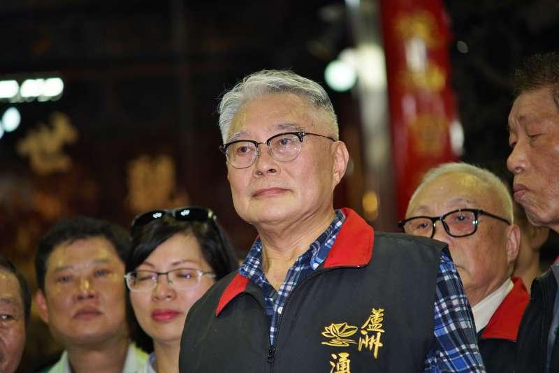 20190811-蘆洲湧蓮寺主委、前立委陳宏昌。(盧逸峰攝)