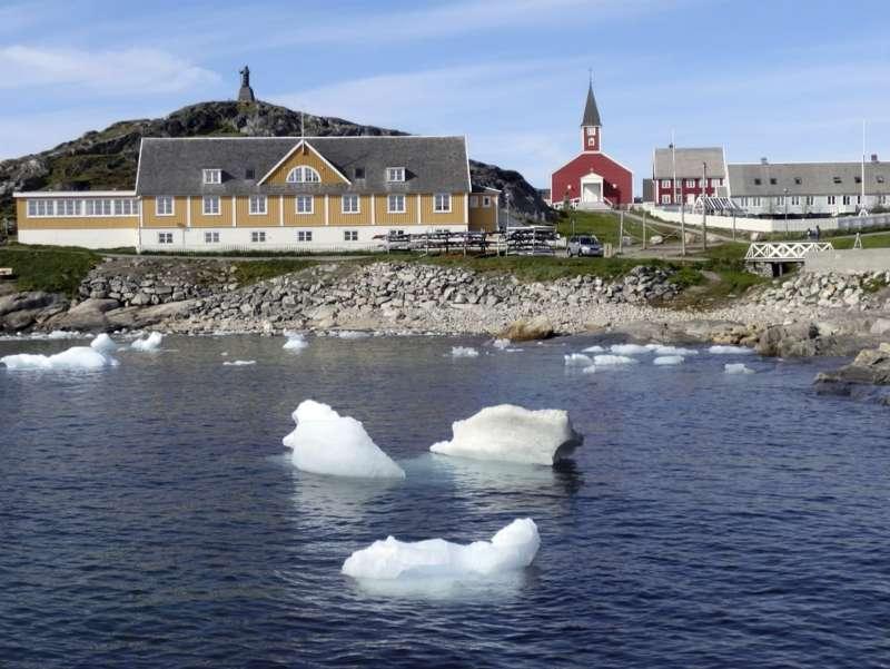 受到全球暖化影響,位處北極圈的格陵蘭首當其衝。(AP)