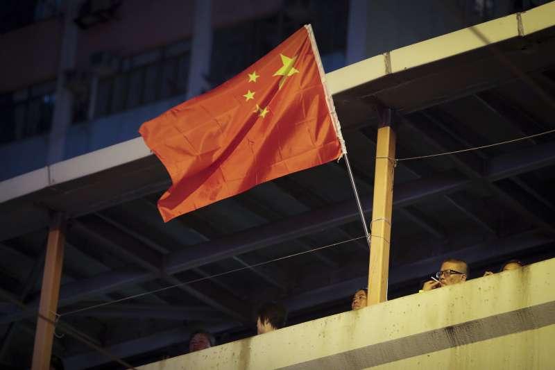 中國國旗、五星旗(AP)