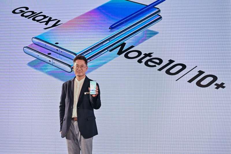 三星電子大中華區總裁權桂賢表示:「Galaxy Note 系列是三星引以為傲且廣受全球消費者歡迎的機種,在台灣已銷售近300萬支,更屢屢登上全球銷售排行。」(圖/台灣三星)