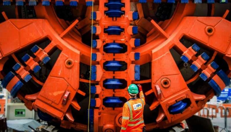 英國欣克利角C核電廠工人面臨心理健康危機。(圖截自EDF官網)