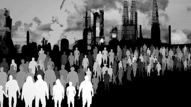 許多反出生主義者認為人口給環境帶來巨大壓力。(BBC中文網)