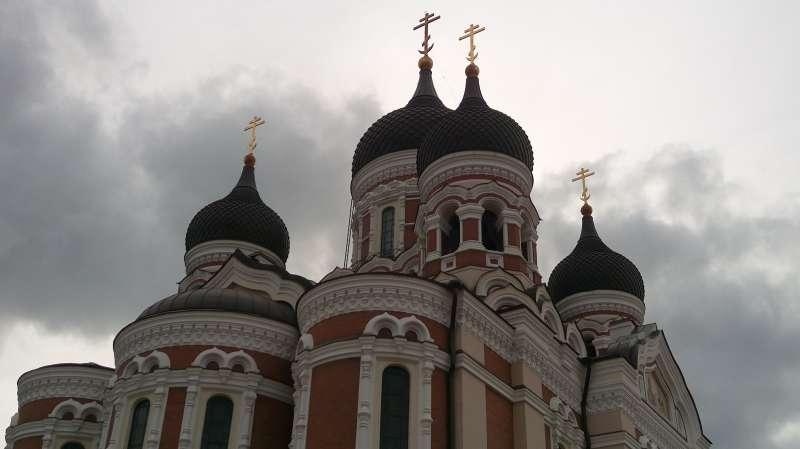 華麗的亞歷山大涅夫斯基大教堂。(圖/謝幸吟提供)