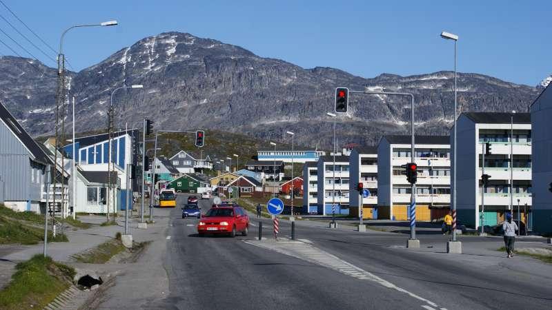 格陵蘭(Greenland)首府奴克(Nuuk)(Algkalv@Wikipedia / CC BY-SA 3.0)