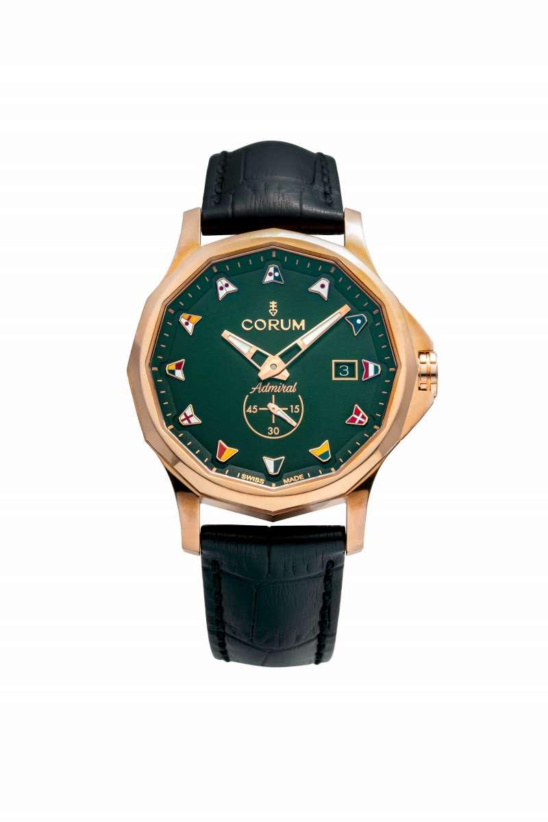 Admiral Legend 42 Bronze 海軍上將系列青銅腕錶_綠 42mm_NT$163,000(圖/崑崙錶 提供)