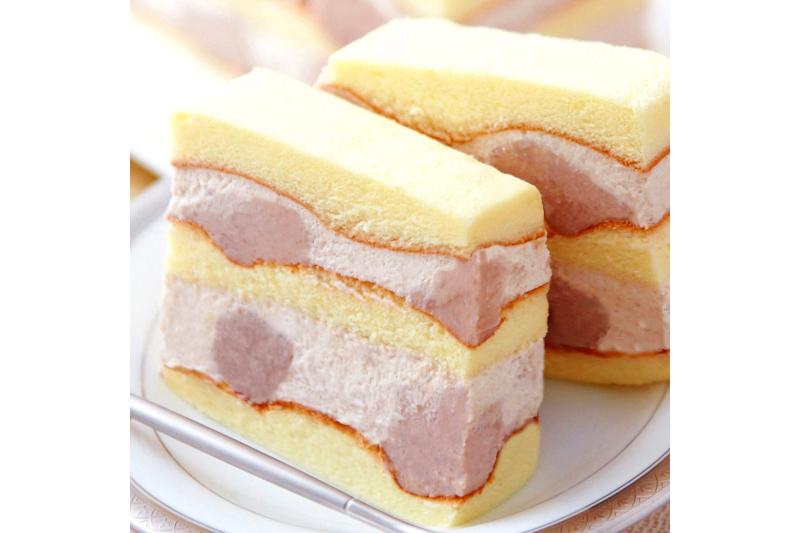 不二緻果的真芋頭蛋糕料多實在。(圖/不二緻果官方網站)