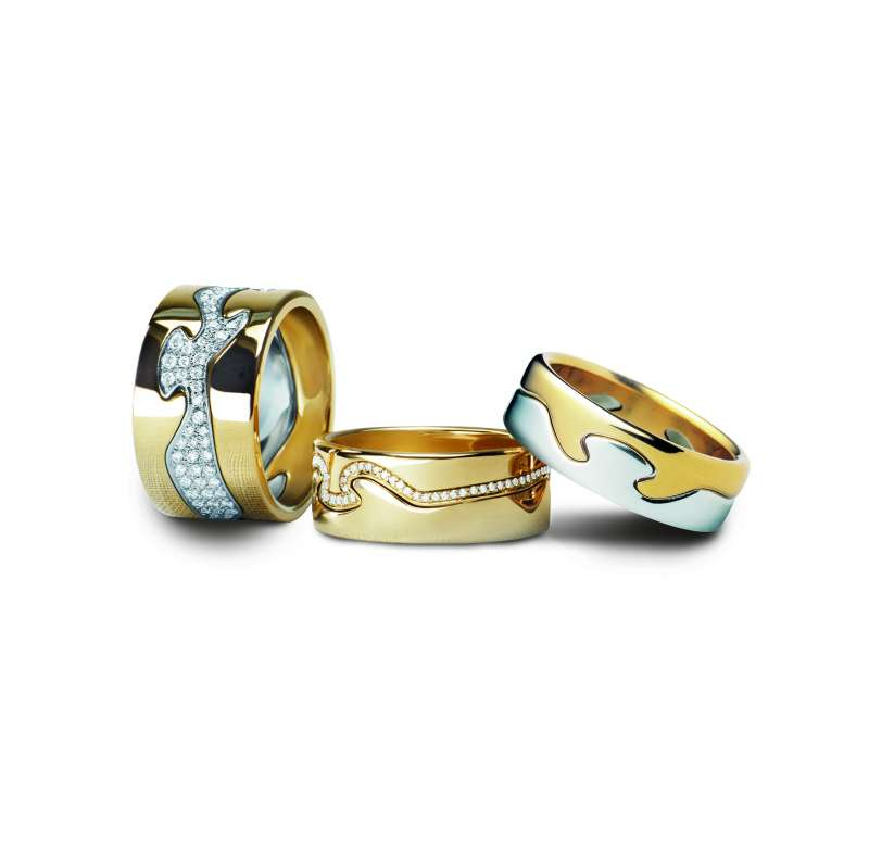 GEORG JENSEN-FUSION系列-18K金鑽石戒指-價格店洽(圖/喬治傑生 提供)