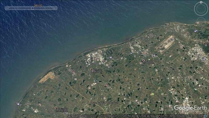 2001年前,桃園藻礁海岸自然完整。
