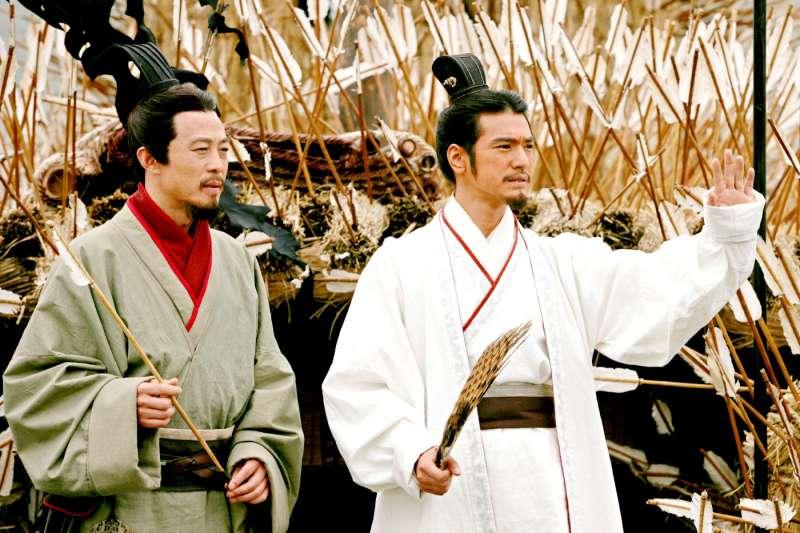 在三國歷史上,真正草船借箭的主角其實是孫權。(圖/IMDb)