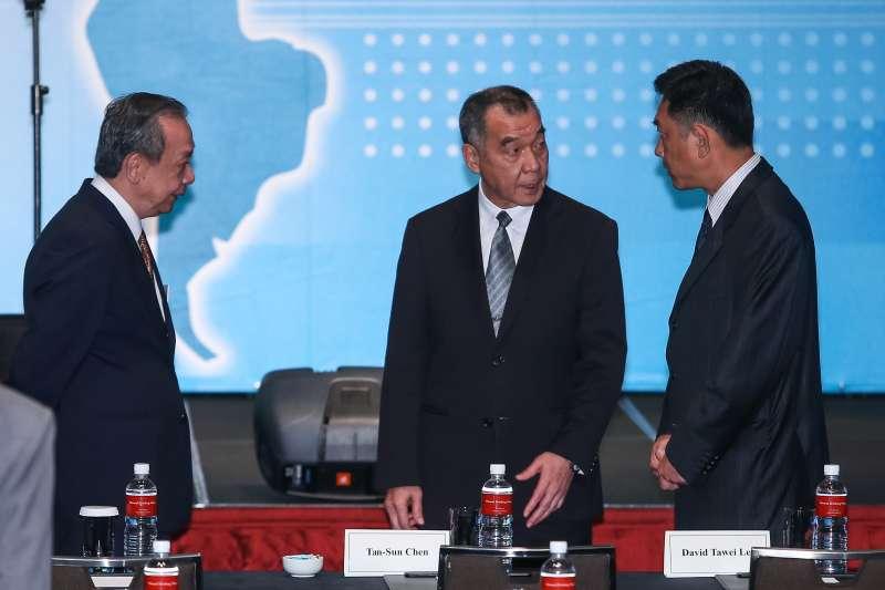 20190820-國安局長邱國正20日出席「凱達格蘭論壇:2019亞太安全對話」。(顏麟宇攝)