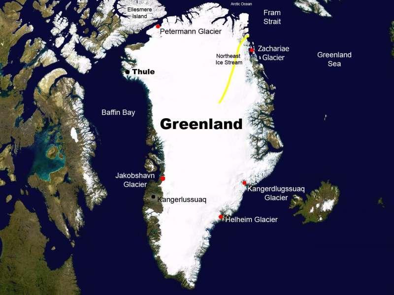 格陵蘭(Greenland)(NASA)