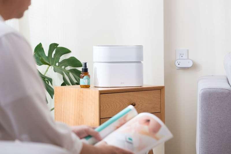 搭配專用淨化液,可讓室內空氣更清香(圖/Opro9 提供)