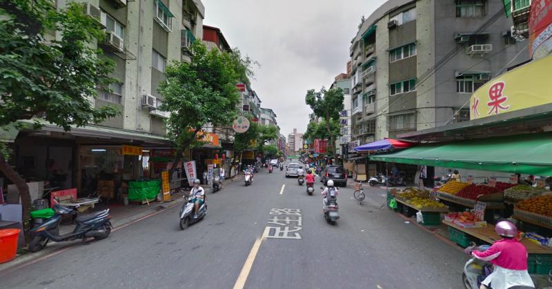 20190821-民生路以小吃聞名,圖為民生路街景。(資料照,取自google map)