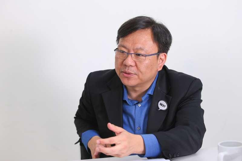 20190821-將來銀行籌備處執行長劉奕成專訪。(顏麟宇攝)