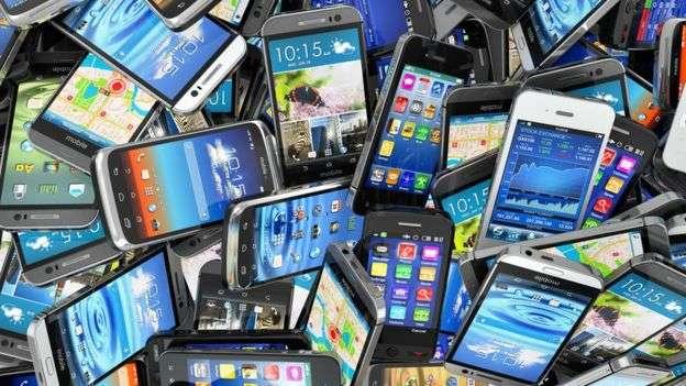 智慧型手機。(BBC中文網)