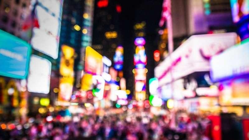 紐約的繁華喧囂得令人恐懼(圖/BBC)