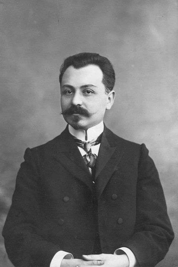 亞塞拜然民主共和國第一任總理法塔利(Fatali Khan Khoyski)(取自維基百科共享資源)