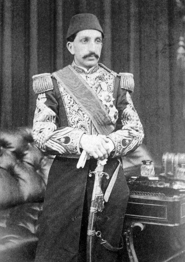 蘇丹阿卜杜勒·哈米德二世(維基百科共享資源)
