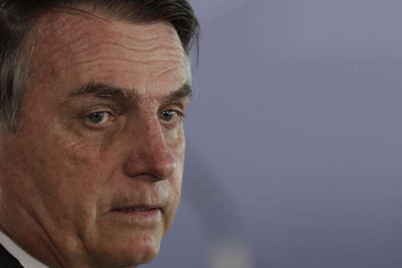 博索納羅又被稱作「巴西川普」,政治手腕強硬,力求經濟發展。(AP)