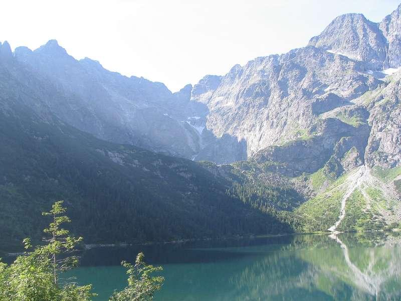 塔特拉山脈位於波蘭和斯洛伐克邊界,是著名的旅遊勝地。(Op@wikipedia/CC BY-SA 3.0)