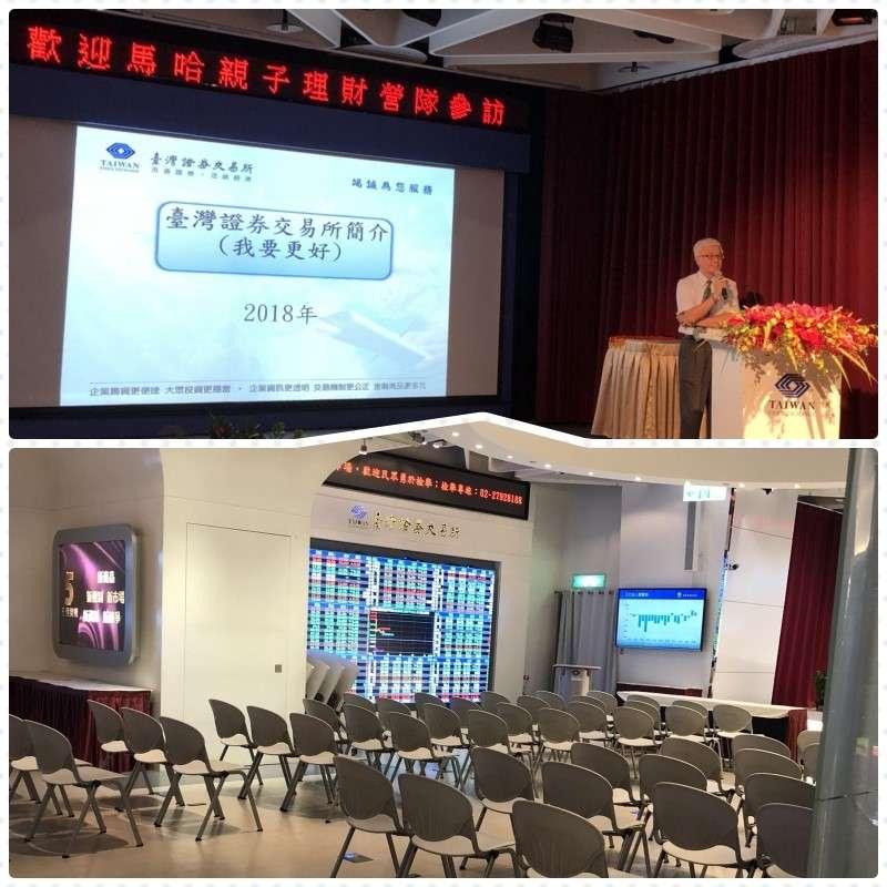 親子理財團隊參訪台北證券交易所