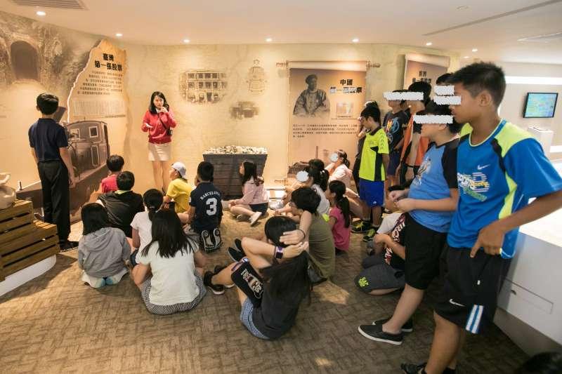 馬哈親子理財營參訪股票博物館