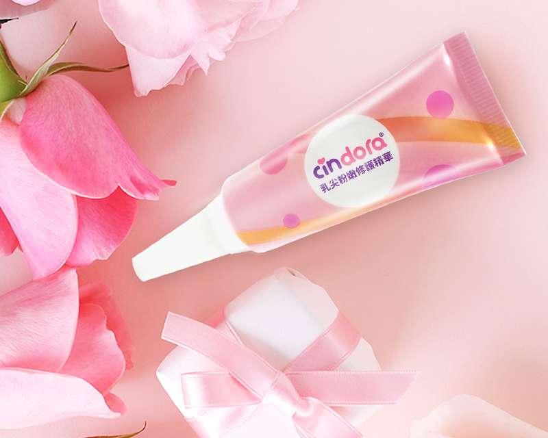 馨朵拉推出乳尖粉嫩修護精華,不含羊毛脂、酒精、香料及防腐劑(圖/馨朵拉 提供)