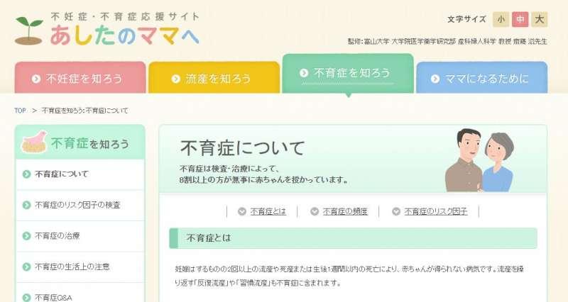 日本有不少女性因不育症煩惱,網路上也有相關人士特別介紹不孕症和不育症的差別。(翻攝網站)