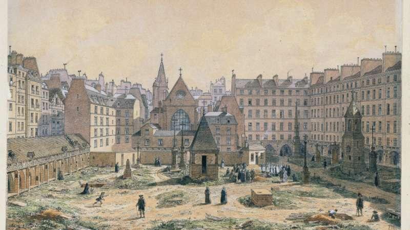 巴黎地下墓穴曾是座挖礦廠。(圖/Les catacombes de Paris)