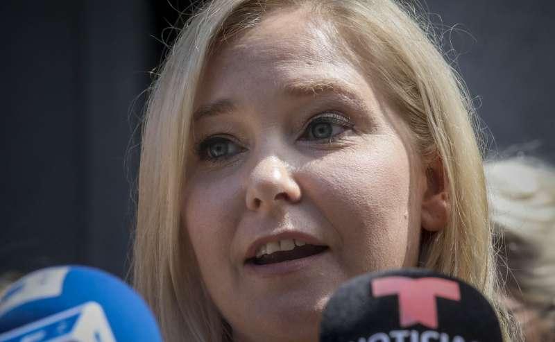 富豪艾普斯坦性侵與人口販運案,27日召開聽證會,23位受害者輪流陳述。(AP)