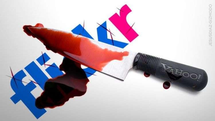 Flickr 被雅虎收購後漸被淘汰(圖片來源:網路)