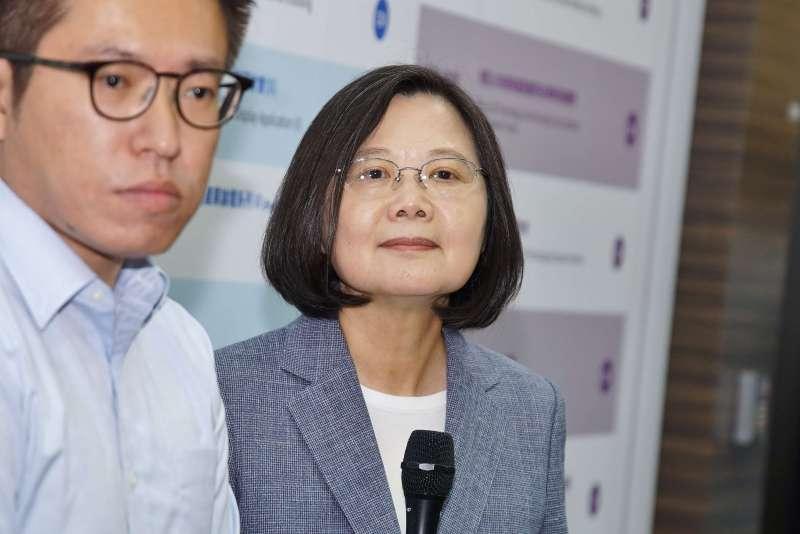 20190828-智慧顯示展,總統蔡英文出席。(盧逸峰攝)