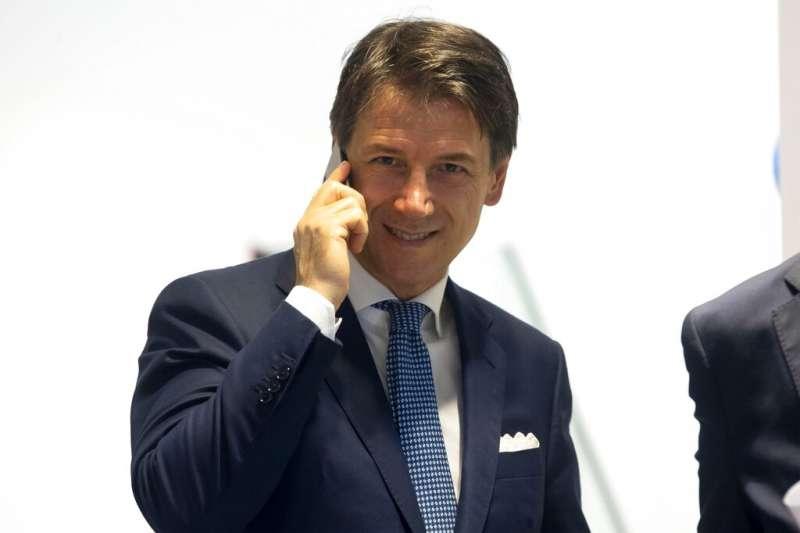 義大利總理孔蒂。(AP)