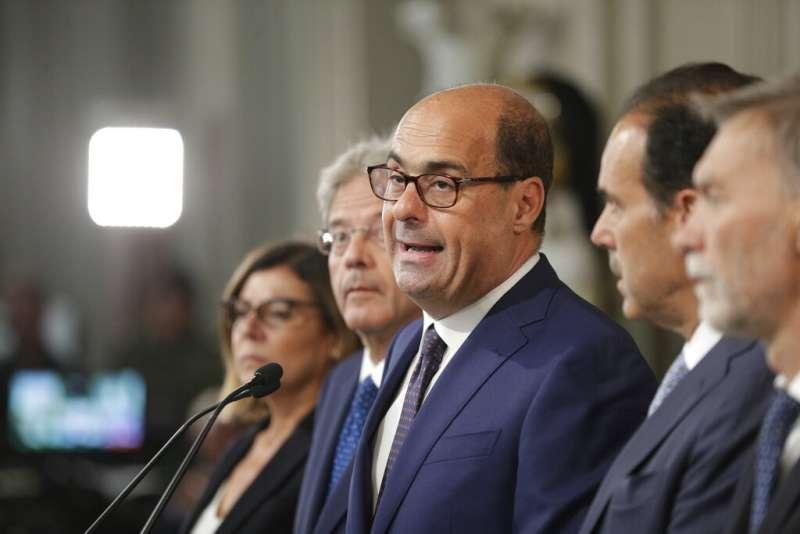 義大利民主黨黨魁靜格雷迪(Nicola Zingaretti)。(AP)