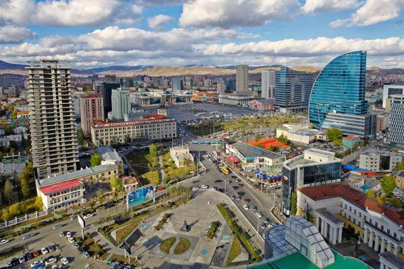 蒙古國首都烏蘭巴托相當於台北的信義計畫區,前景看漲(圖/鉅碩資產 提供)