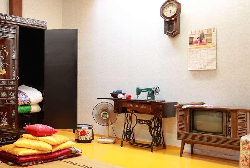 在敦義門博物館村,彷彿走進70年代首爾的常民生活。(首爾市政府提供)