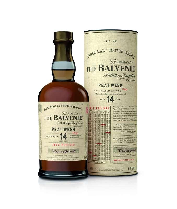 百富(The Balvenie) 14年Peat Week 泥煤威士忌(圖 / 格蘭父子提供)