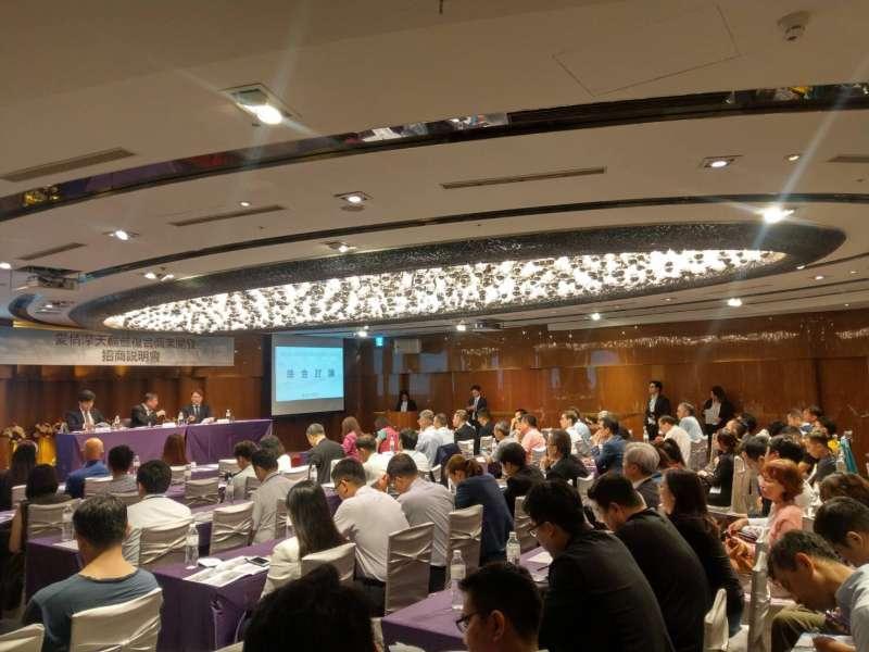 超過40家廠商70名潛在投資者與會。(圖/徐炳文攝)