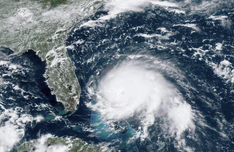 颶風多利安登陸巴哈馬後結構未遭破壞,反而升級成5級颶風。(美聯社)