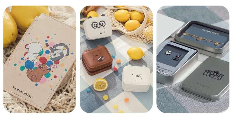 VACANZA ACCESSORY精心打造聯名商品,將熊熊的表情製成飾品盒(圖/VACANZA 提供)