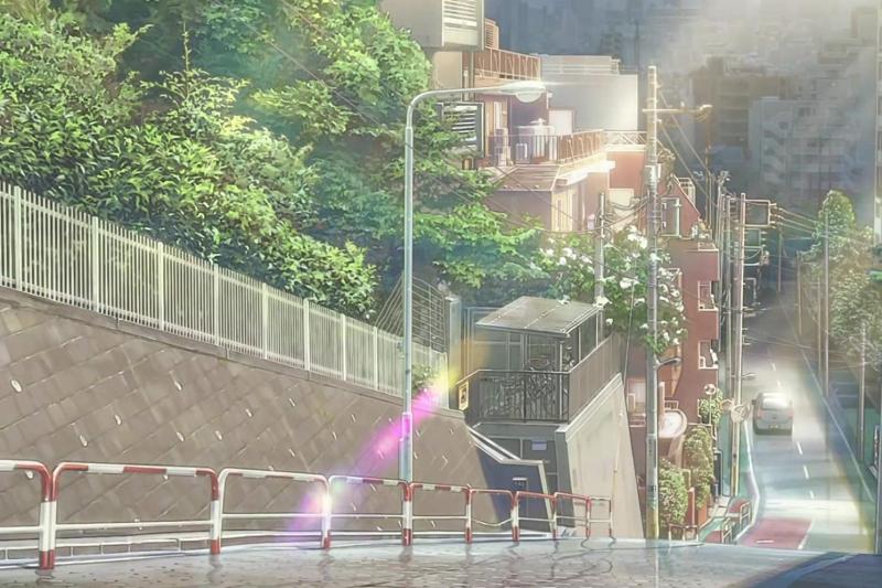 新海誠的繪畫風格細膩真實。(圖/IMDb)