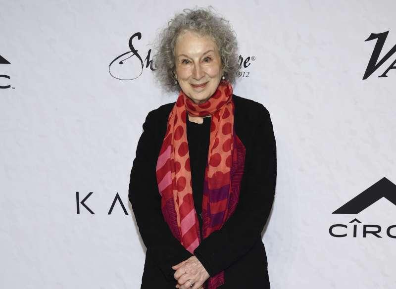 加拿大作家愛特伍(Margaret Atwood)睽違34年推出《使女的故事》續作《聖約》。(AP)