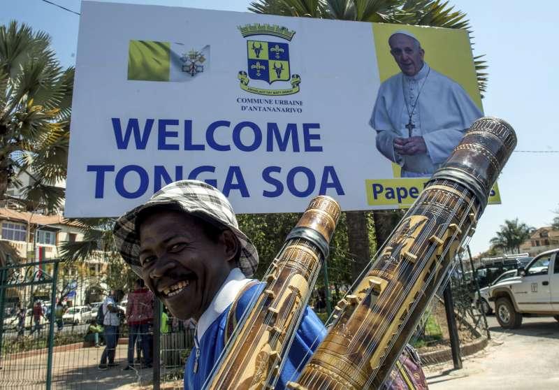 教宗方濟各4日起出訪非洲莫三比克(、馬達加斯加、模里西斯(美聯社)