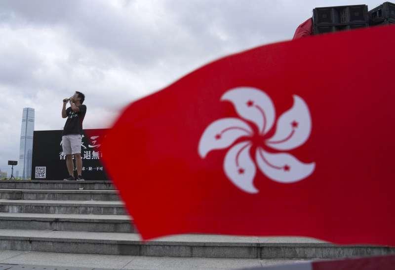 香港民間的中國認同逐漸消逝。(AP)
